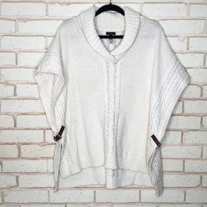 Talbots Poncho Style Sweater Sz M
